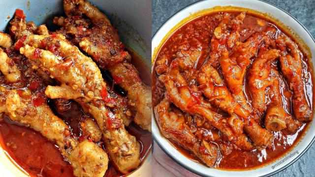 Ceker Setan Foto Instagram Wareg_id Dan Belangaindonesia Apakah Kamu Penggemar Resep Masakan Pedas