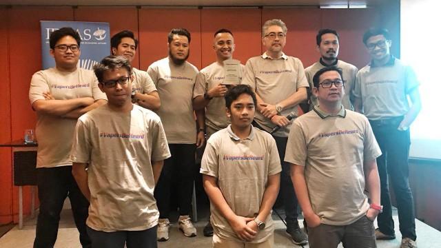 Komunitas Vapers Asia Beri Award ke Indonesia atas Kebijakan Cukai (308429)