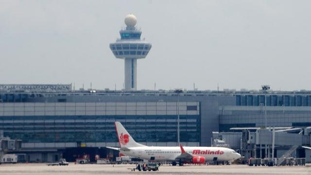 Bandara Changi di Singapura