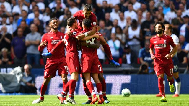 Tekuk Spurs, Catatan Sempurna Liverpool Berlanjut (8059)