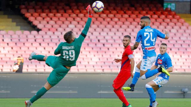 Gol Tunggal Insigne Menangkan Napoli atas Fiorentina (120450)