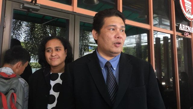 Pengacara Roy Suryo Tigor Simatupang di Kemenpora