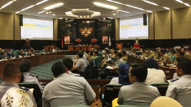 Rapat Banggar di DPRD DKI Jakarta