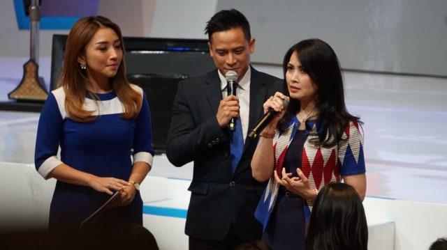 Presiden Jokowi, Ketua Umum Perindo, Hary Tanoesoedibjo, Liliana Tanoesoedibjo
