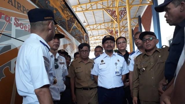 Wali Kota Depok, Idris Abdul Shomad, Pembukaan Terminal Jatijajar