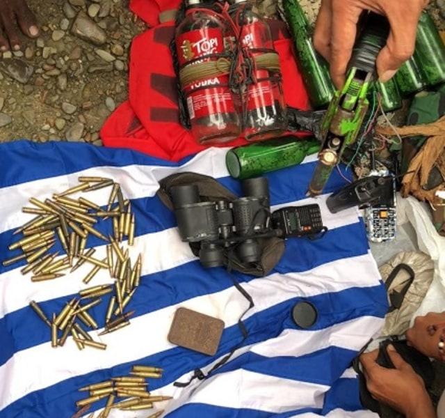 Polisi Tetapkan 2 Tersangka Kepemilikan Amunisi di Markas KNPB Timika (61807)