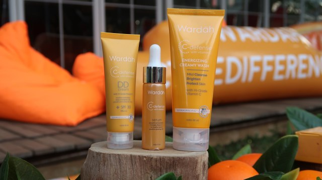 C Defense Skincare Kaya Vitamin C Dari Wardah Untuk Remaja Indonesia Kumparan Com