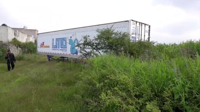 Banyak Pembunuhan di Meksiko, Kontainer Diubah Jadi Kamar Mayat (859754)