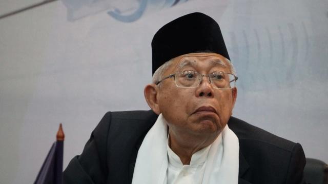Ma'ruf Amin: Orang Padang di Jakarta Dukung 01, Masa di Sumbar Tidak? (215841)