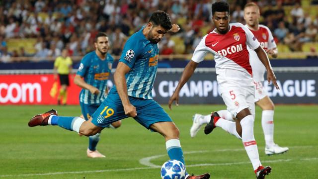 Atletico Madrid vs AS Monaco