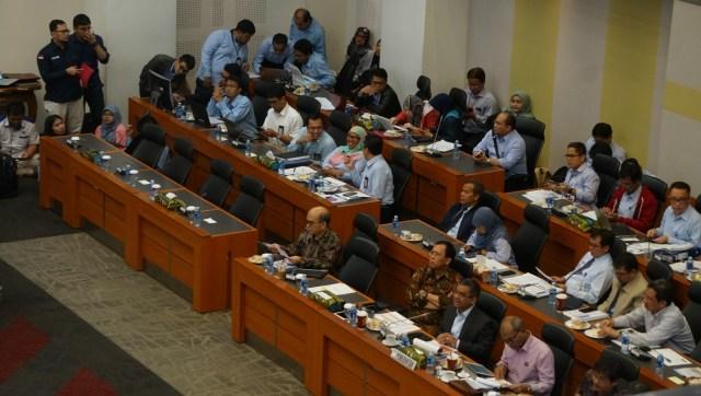 Rapat Badan Anggaran, DPR RI, Pemerintah, Gedung DPR RI
