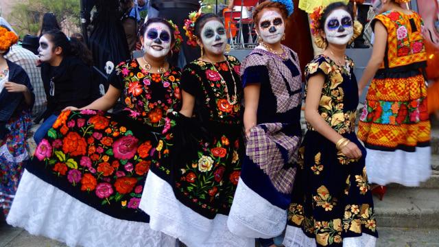 Festival Day of the Dead di Oaxaca, Meksiko