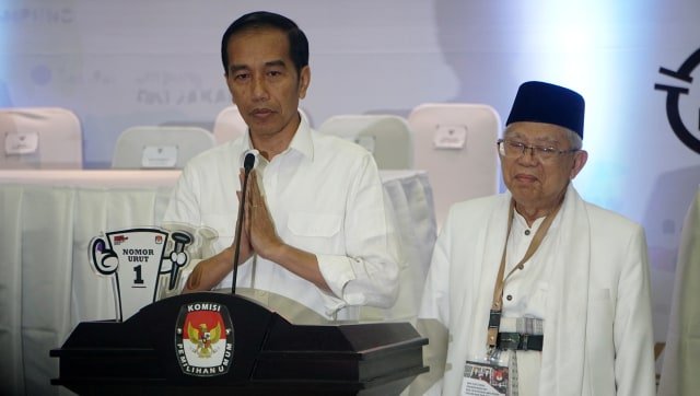 Jokowi-Ma'ruf di KPU