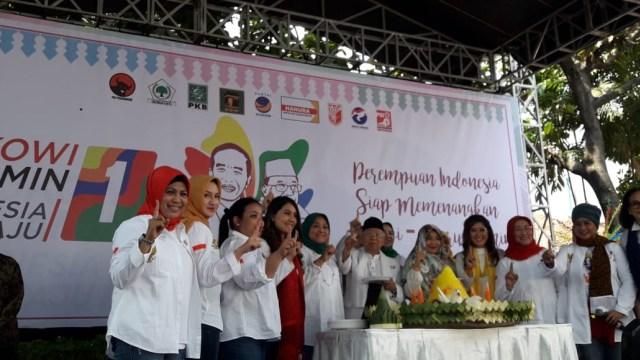 Tumpengan, deklarasi dukungan, Jokowi-Ma'ruf