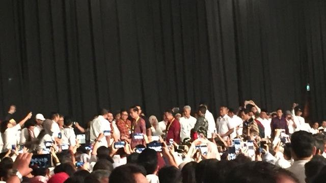 Jokowi, JCC, Reuni Alumnus UGM