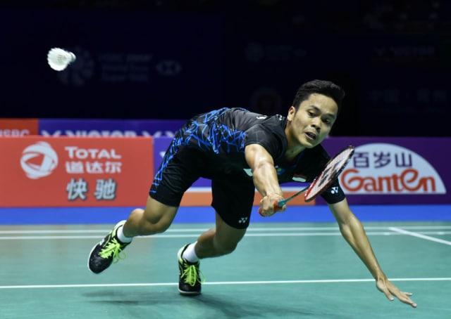 Indonesia Melanju Ke Final di China Open 2018, Anthony Sinisuka Ginting