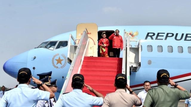 Jokowi dan Iriana ke Bali Resmikan GWK