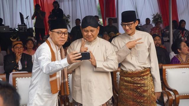 Ketum PAN Zulkifli Hasan Ajak Prabowo dan Sandi