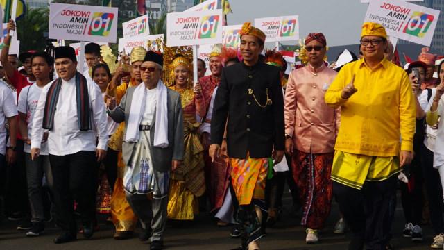Jokowi dan Ma'ruf Amin, Deklarasi Kampanye Damai