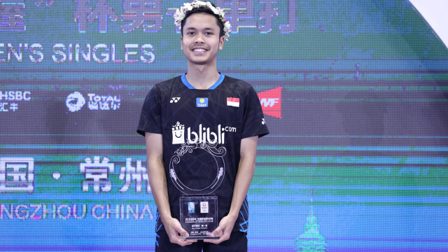 Anthony Ginting juara