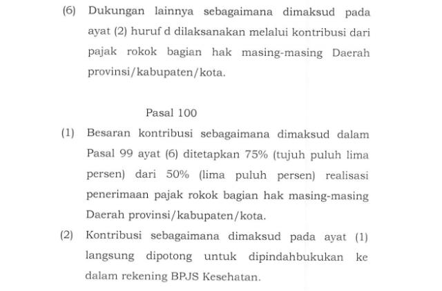 Setengah Hati Berbagi Duit Rokok untuk BPJS (70286)