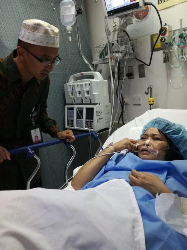 WNI terkapar , Rumah Sakit Jeddah (NOT COV)