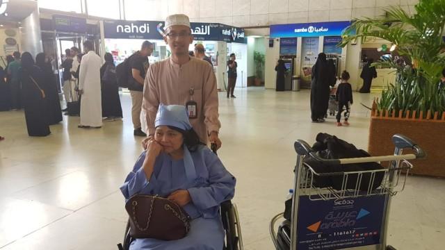 WNI terkapar , Rumah Sakit Jeddah