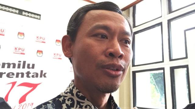 Komisioner KPU RI Pramono Ubaid Tanthowi