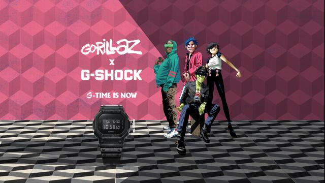 Kolaborasi terbaru Gorillaz dan G-Shock