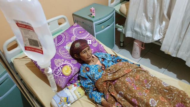 Kusmi, pasien tumor payudara peserta BPJS Kesehatan