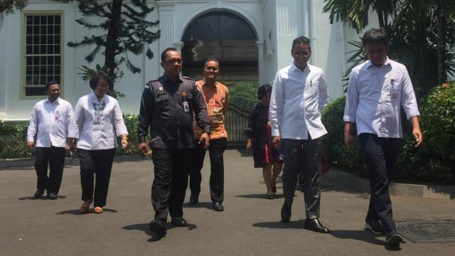 KPU dan Bawaslu Bersama Pihak Setpres Istana