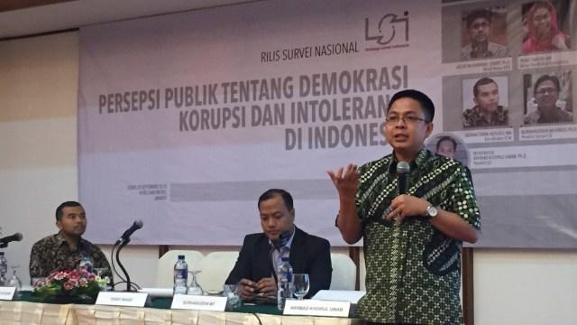 LSI: Intoleransi Politik di Umat Islam Meningkat Sejak Aksi 212 (342494)