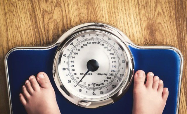 Ilustrasi berat badan anak