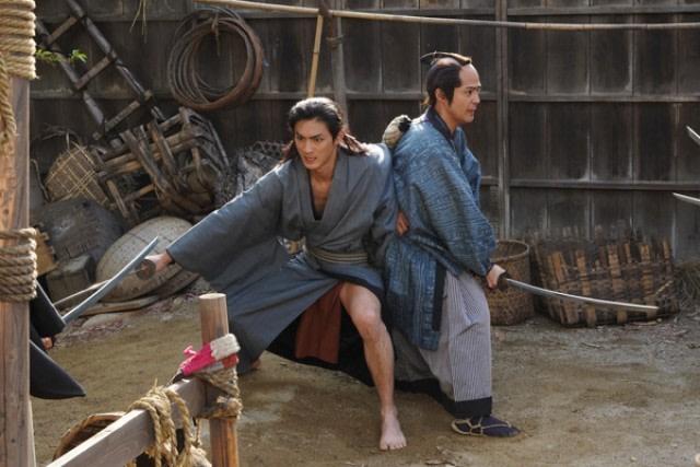 Adegan dalam film 'Tajuro Jun Aiki'