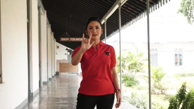 Krisdayanti, Caleg PDI-P Dapil Malang Raya