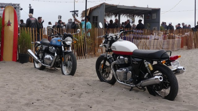 Royal Enfield 650 Twin, GT 650 (Cafe Racer) dan Interceptor (650)