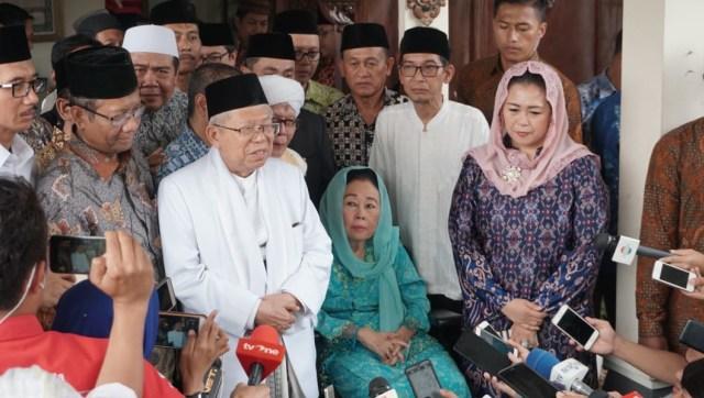 Ma'ruf Amin soal Didukung Keluarga Gus Dur: Sudah Akrab Bertahun-tahun (75681)