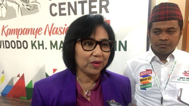Jubir TKN Irma Chaniago, Rumah Cemara, Jakarta Pusat