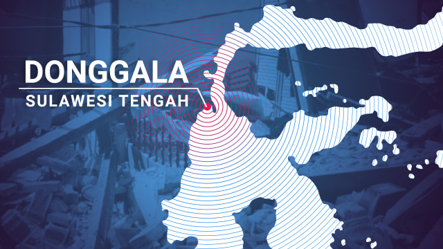 Ilustrasi Gempa Donggala, Sulteng