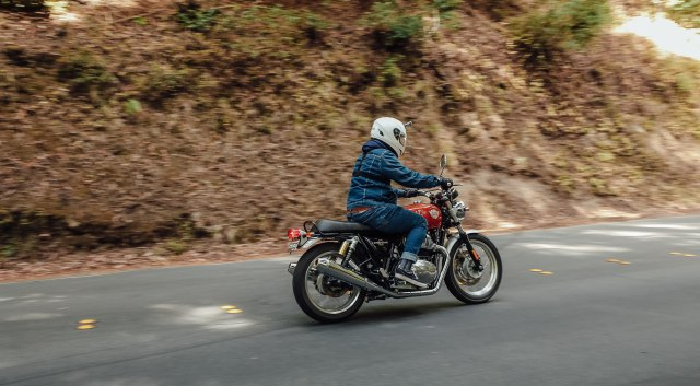 Menjajal Royal Enfield 650 Twin Interceptor di California