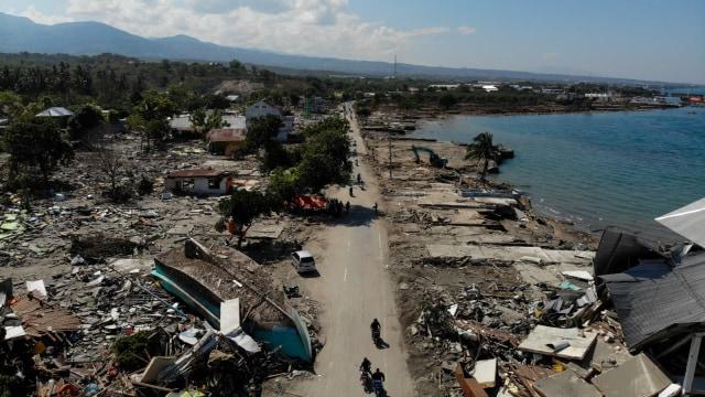 Lipsus Negeri Seribu Gempa, pesisir Palu, gempa Palu