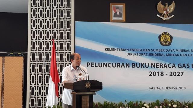 Wakil Menteri ESDM Arcandra Tahar Meluncurkan Neraca Gas Bumi Indonesia