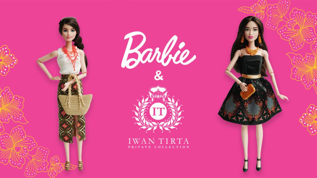 Barbie x Iwan Tirta Batik