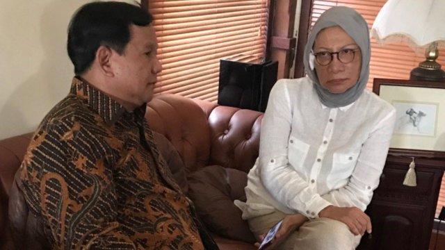 Prabowo, Ratna Sarumpaet