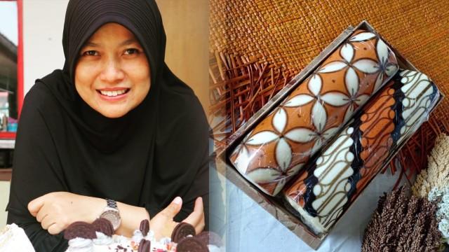 Retnodyah Lestarikan Batik Lewat Goresan Cantik Di Atas Bolu