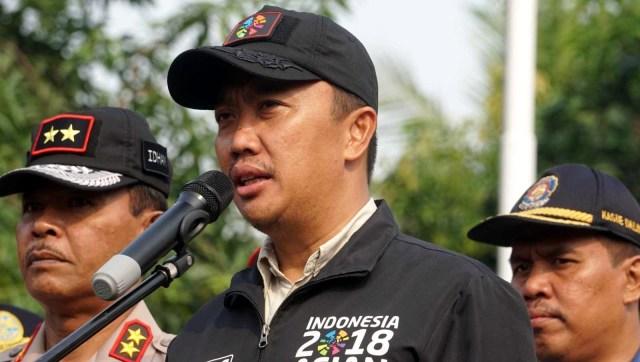 Imam Nahrawi, apel gelar pasukan, rangka pengamanan Asian para games 2018
