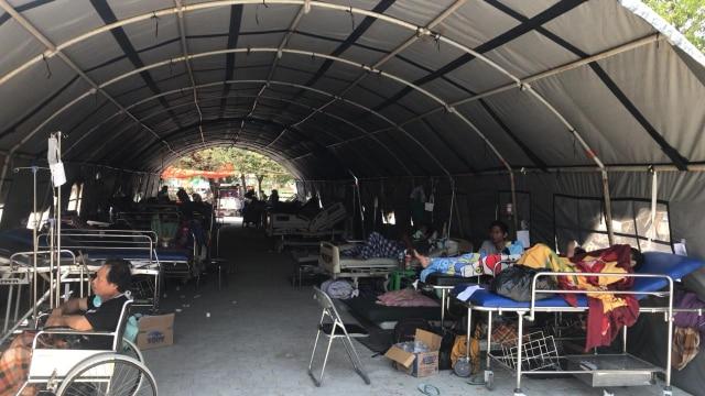 Tim Medis IDI bantu korban gempa , Palu Sulawesi Tengah