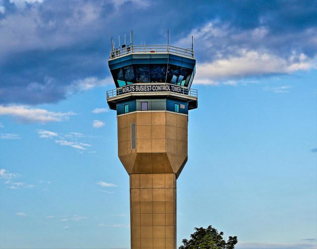 Tower Tempat Petugas Air Traffic Controller Bekerja