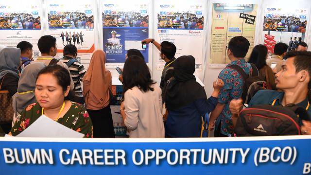 Pencari kerja, BUMN Career Opportunity, karir