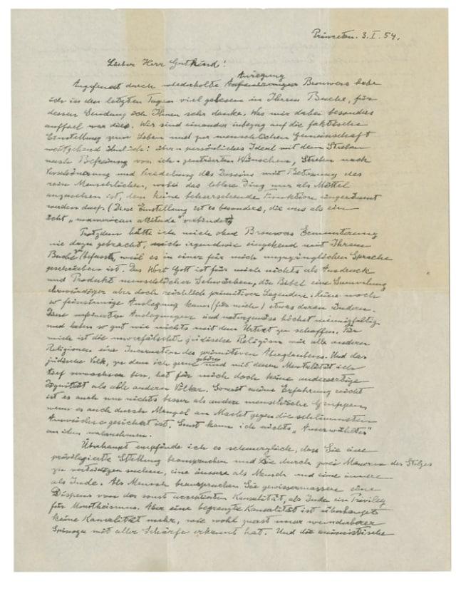 'Surat Tuhan' Einstein Laku Terjual Rp 42 Miliar di New York (342021)